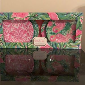 Lilly Pulitzer Appetizer Plate Set!